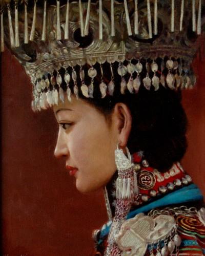 Miao Bride (18″x 14″)