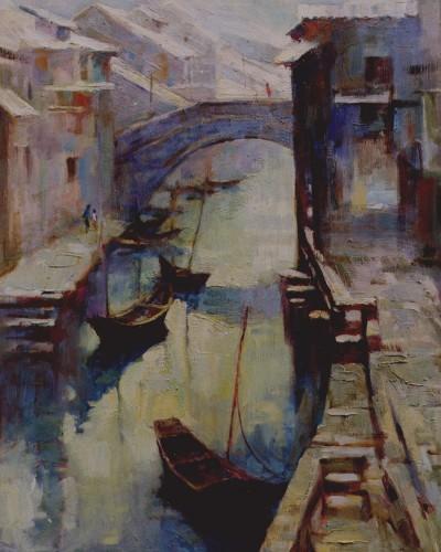 Su Zhou river (20″x 16″)