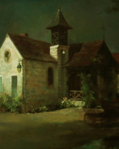 Old house (24″x 30″)
